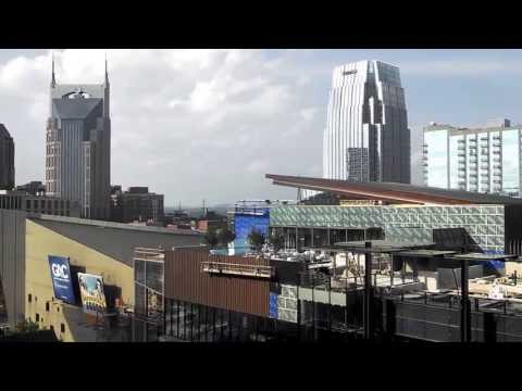 The View from the Music City Center, Nashville TN - May 20,2013.