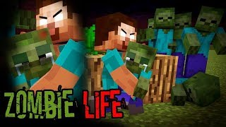 Monster School  Endermans Life Part 3 With ZOMB Es Life   BEST Minecraft Animation
