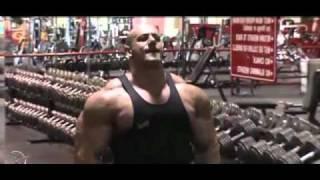 Super Freak robert burneika training shoulders & calves motivation video 2010 2017 Video