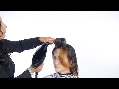 How to Blow Dry Hair - TheSalonGuy