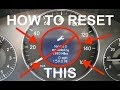 How To Reset Service Light on a Mercedes Benz w211