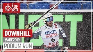 Kjetil Jansrud | Gold Medal | Men's Downhill | Are | FIS World Alpine Ski Championships