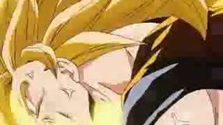 goku ssj5 transformation - dragon ball af