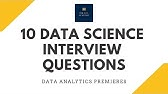 Data Analyst Interview Questions and Answers - For Freshers