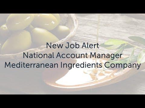 New Job Alert: National Account Manager