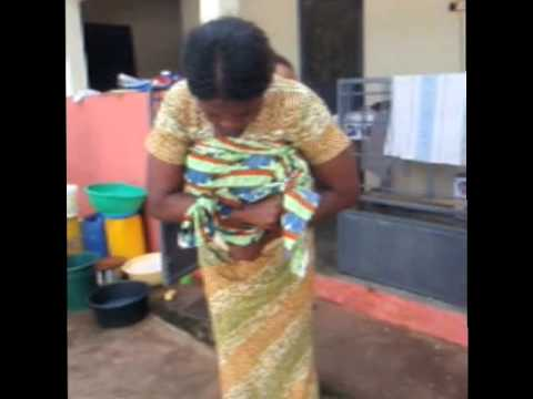 African Baby Wrap Youtube
