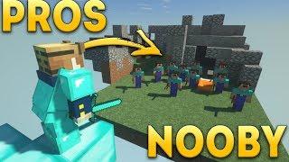 MISTRZ vs NOOBY w Minecraft! | DerpMC.pl