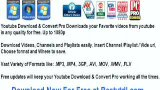 youtube downloader convert to 3gp free download
