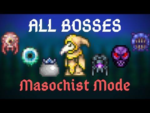 Terraria: Masochist Mode All Bosses (Except The Exclusives) // Fargo's Soul Mod
