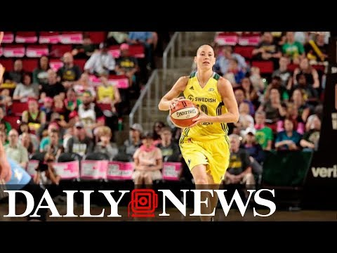 WNBA Star Sue Bird Comes Out As Gay, Reveals She's Dating U.S. Soccer Player Megan Rapinoe