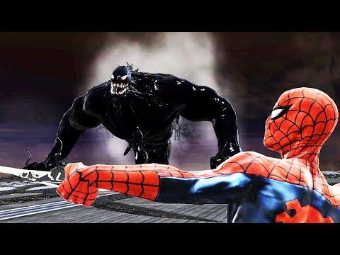 Spider-Man Web of Shadows - Good Path (Max PC) Walkthrough part 12 - HUGE VENOM (Final)
