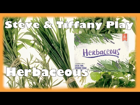 Steve & Tiffany Learn & Play: Herbaceous