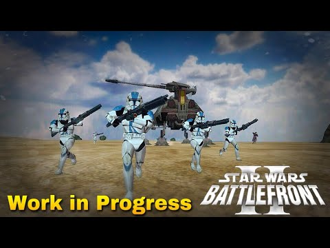 MY FIRST OG STAR WARS BATTLEFRONT 2 MOD! (Work In Progress)