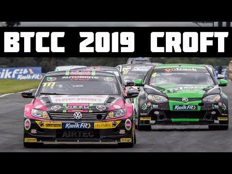 BTCC 2019 Croft | A Day in The Life of A BTCC Driver