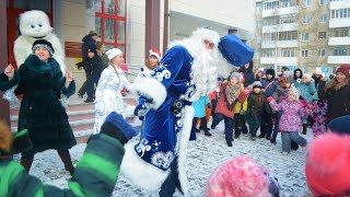в Урае открыли свою резиденцию Деда Мороза