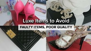 LUXURY FAILS - AVOID! // Faulty Items, Poor Quality...