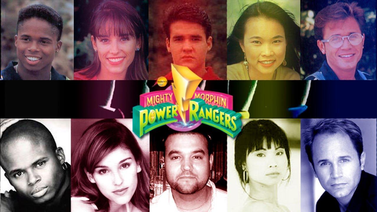 Recordando Mighty Morphin Power Rangers Before And After El Antes Y Despues De Los Actores Youtube