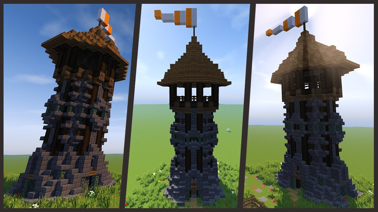 Stream casa redstone 4 0 come costruire una torre for Costruire una torre di osservazione