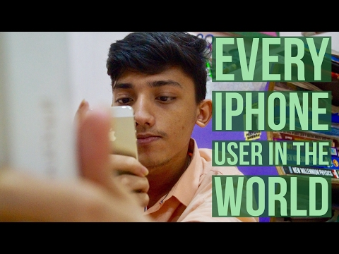 Every Iphone User in the World! |Being Bong|