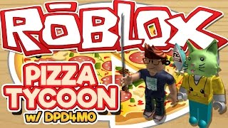 ROBLOX | Pizza Tycoon w/ DPD4M0 | Roblox Fun Gameplay 2 Player