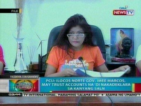 BP: Ilocos Norte Gov. Marcos, may trust accounts na 'di nakadeklara sa kanyang SALN