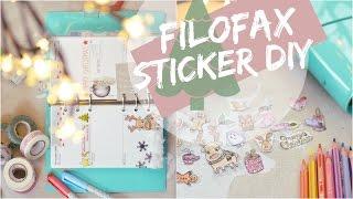 FILOFAX PLANNER Weihnachts Deko & STICKER DIY | ViktoriaSarina