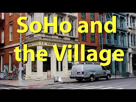 SoHo and Greenwich Village, New York Mp3