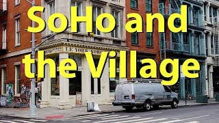 SoHo and Greenwich Village, New York