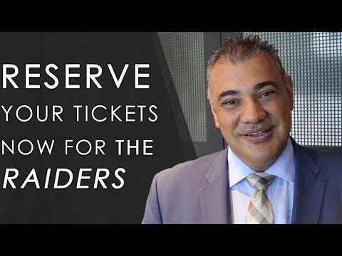 Las Vegas Real Estate: Put Your Deposit Down Now For Las Vegas Raiders Season Tickets