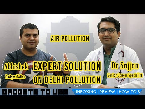 Tips To Fight Delhi Pollution From Expert Dr. Sajjan, Senior Cancer Specialist, Must Watch