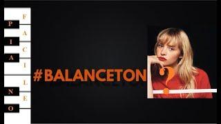 Gambar cover Angèle - Balance ton quoi (piano facile avec accords et paroles)