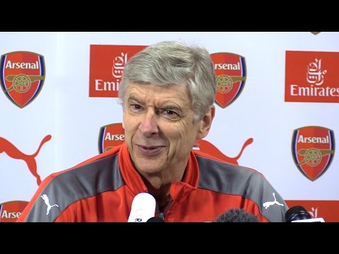 Arsene Wenger Full Pre-Match Press Conference - Crystal Palace v Arsenal