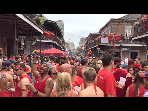 New Orleans 2016 Red Dress Run