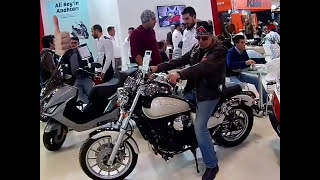 Cnr Expo Center Motosİklet Fuari 2017. Daelim Daystar  Ve Küba Superlight