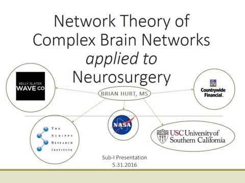 Network Theory Of Complex Brain Networks