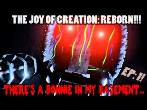 THE JOY OF CREATION: REBORN!!! | BONNIE'S BASEMENT LEVEL | FIVE NIGHTS AT FREDDY'S SPINOFF