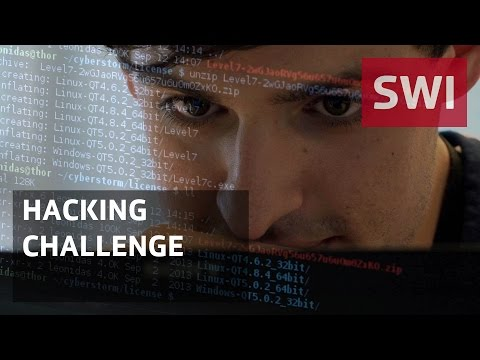 The battle to become Switzerland's best young hackers