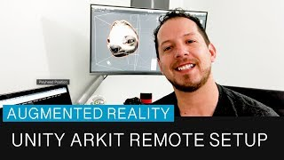 Unity3d ARKit بعد الإعداد لإرسال ع البيانات إلى وحدة محرر