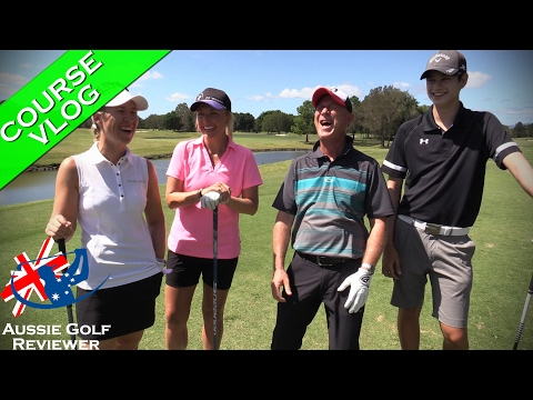 RACV ROYAL PINES GOLF COURSE VLOG PART 1