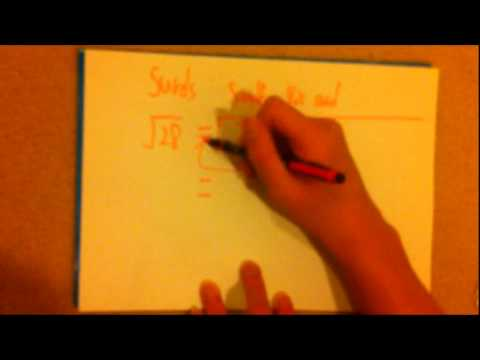 Surds - Basic concepts (中文CANTO) - Chapter 1b - 中3數學 - YouTube