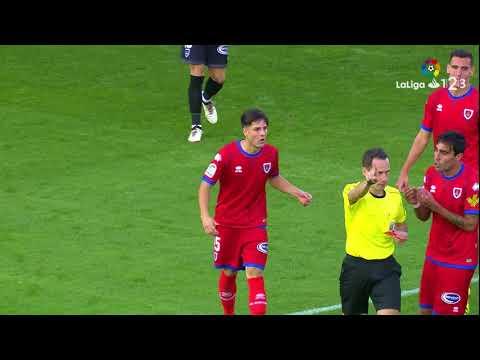 Resumen de CD Numancia vs Granada CF (1-3)