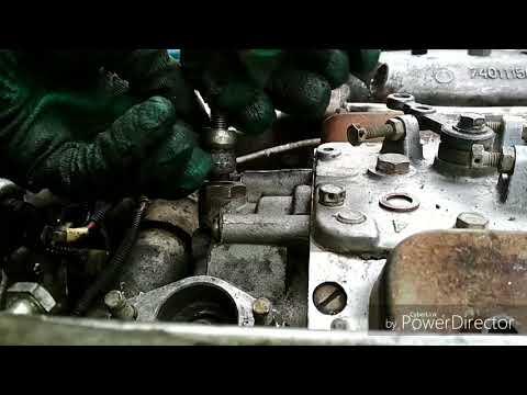 Установка ТНВД КАМАЗ 740
