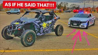 POLICE PULL Over MAVERICK X3!!!