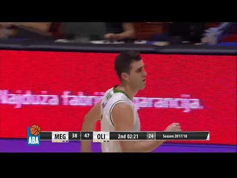 ABA Liga 2017/18 highlights, Round 4: Mega Bemax - Petrol Olimpija (15.10.2017)