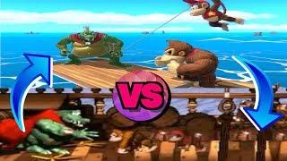 Smash Ultimate- Donkey Kong Country, King K. Rool Battle!!!