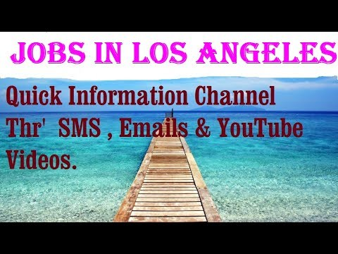 Jobs in LOS ANGELES      City for freshers & graduates. industries, companies.   USA . AMERICA .