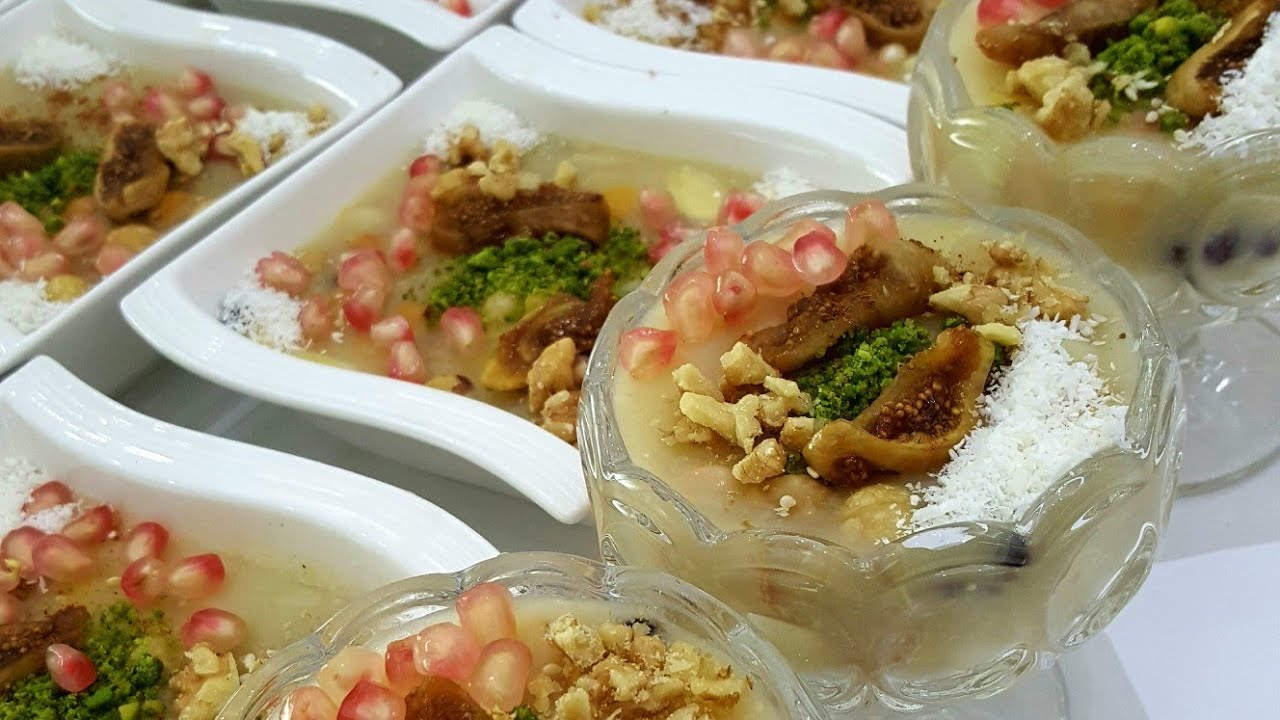 Aşure Tarifi /Hatice Mazi ile yemek tarifleri