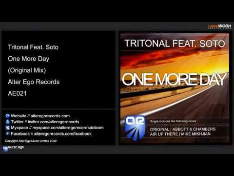 Tritonal Feat. Soto - One More Day (Original Mix)