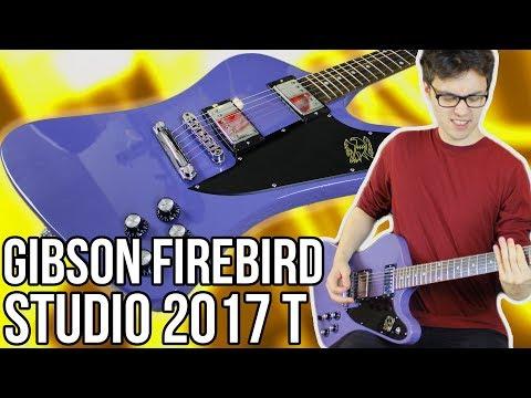 Gibson Firebird Studio 2017 T Demo/Review    A Proper Firebird (Not a Firebird Zero)!!