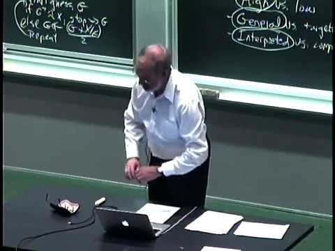 Lec 1 | MIT 6.00 Introduction to Computer Science and Programming, Fall 2008